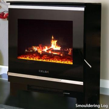 Celsi Purastove Glass 2 Electric Stove   Flames.co.uk